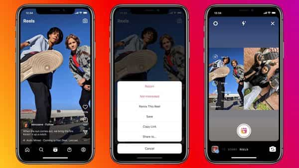 Instagram has said only newly uploaded Reels will have Remix enabled.