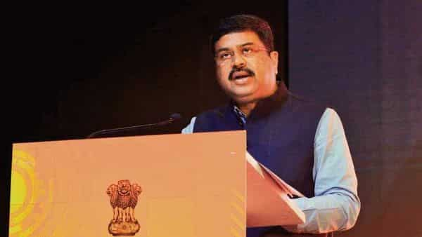 Union petroleum minister Dharmendra Pradhan said when crude oil prices will fall in the international market, the benefit will be passed on to the consumer (Reuters)