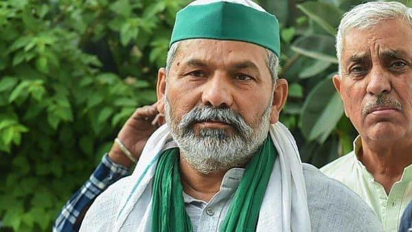 Farmers haven't left protest sites near Delhi: Rakesh Tikait