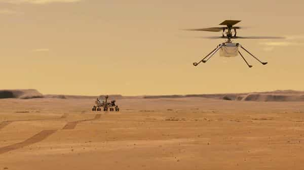 Mars Helicopter Ingenuity (AFP)