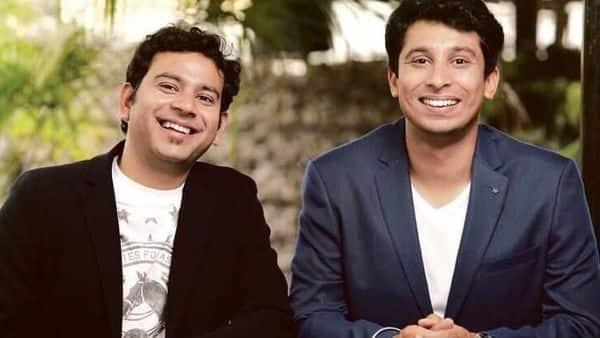Meesho co-founders Sanjeev Barnwal (left) and Vidit Aatrey.