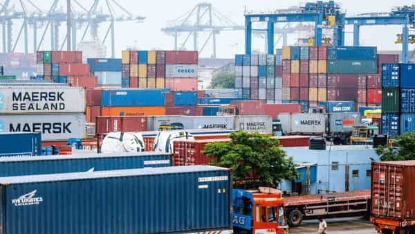 Trade deficit stands at $12.9 billion in February amid increasing concerns of a second wave of coronavirus, and delay in implementing a tax reimbursement scheme for exporters. (Bloomberg)