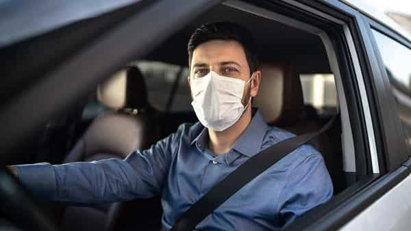 Wear a face mask even if you are driving alone. (Twitter)