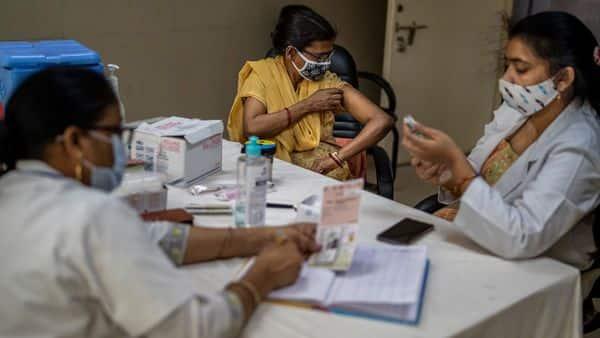 8.83 crore jabs administered in India so far (AP)
