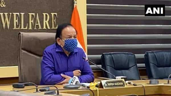 Union Health Minister Harsh Vardhan (ANI)