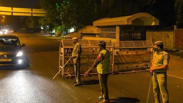 Ghaziabad imposes night curfew from tonight (Amal KS/HT PHOTO)