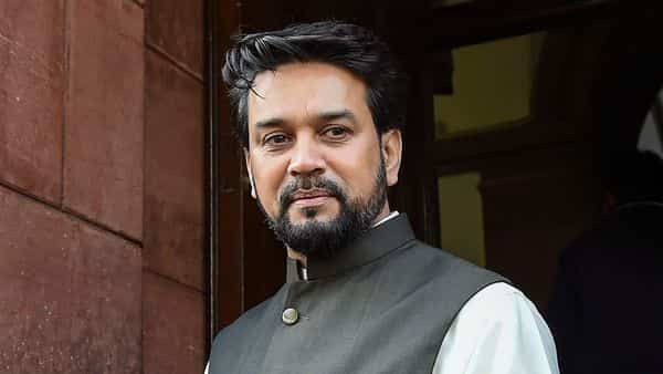 Minister of State for Finance Anurag Singh Thakur. (Photo: PTI)