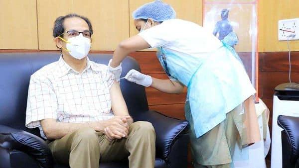 CM Uddhav Thackeray took his second dose of Covid-19 vaccine today.