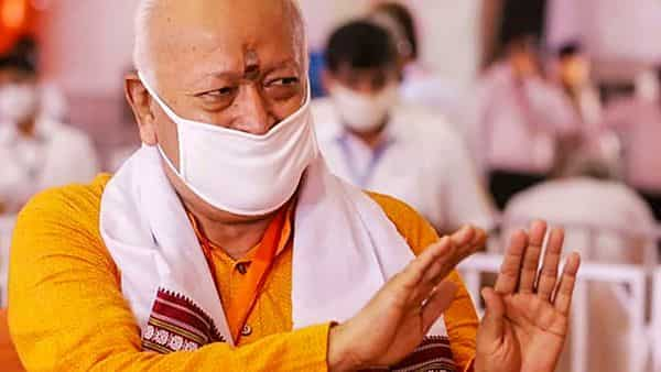 RSS Chief Mohan Bhagwat (PTI)