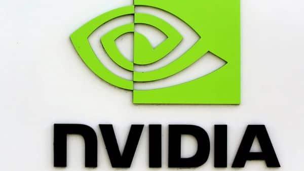 FILE PHOTO: The logo of technology company Nvidia is seen at its headquarters in Santa Clara, California,  (REUTERS)