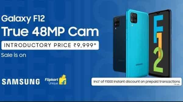 You can grab this stunning phone at an unbelievable introductory price of  ₹9,999 inclusive of  ₹1,000 instant cashback, in case of prepaid transactions. (Samsung)