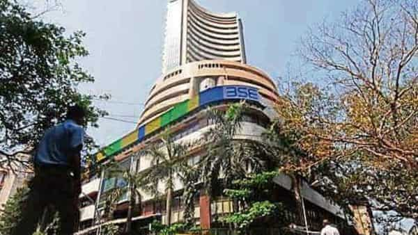After rising nearly 1% in early trade, benchmark equity indices Sensex and Nifty were flat around noon.