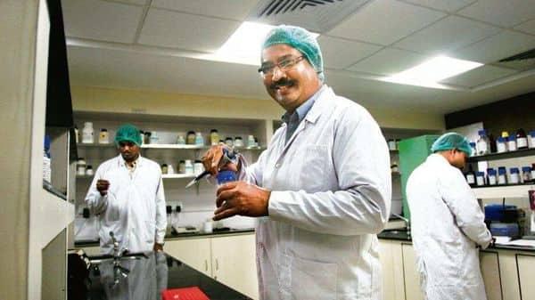 Bharat Bio's chairman and managing director Krishna Ella