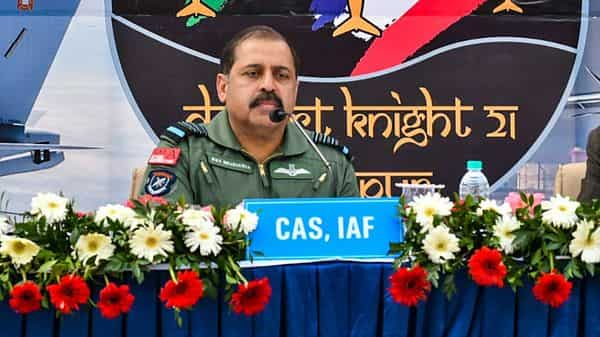 Chief of Air Staff Rakesh Kumar Singh Bhadauria. (PTI)