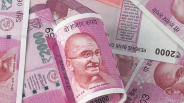 The rupee settled at 74.35 against the dollar on Friday.