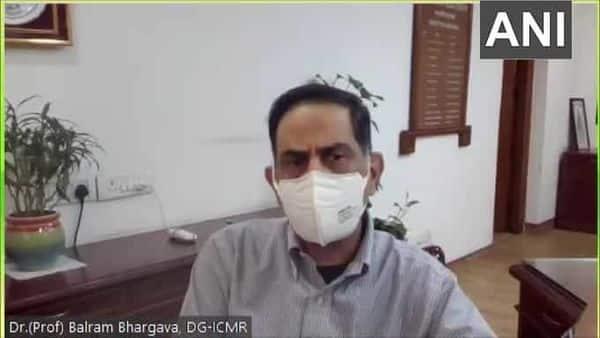 ICMR DG Dr. Balram Bhargava. (ANI)