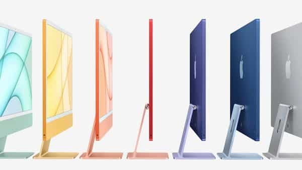 Apple announces iMac in new colours (Apple)