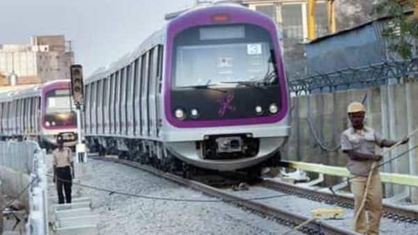 A file photo of Bengaluru metro project. Photo: Aniruddha Chowdhury/Mint