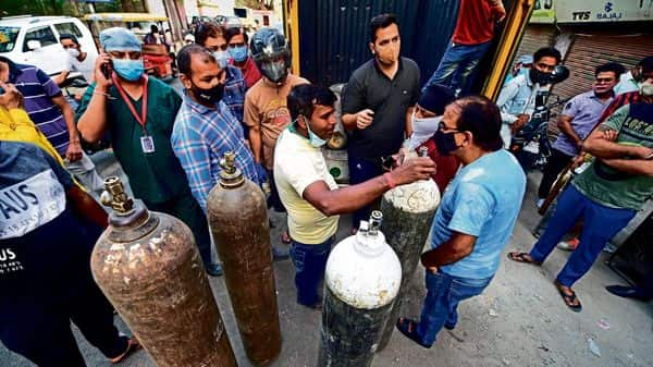 Poor oxygen-supply planning has hit India hard in its second covid wave pti
