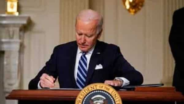More than 300 businesses and investors are calling on the Biden administration to set an ambitious climate change goal that would cut U.S. greenhouse gas emissions by at least 50% below 2005 levels by 2030. (AP)