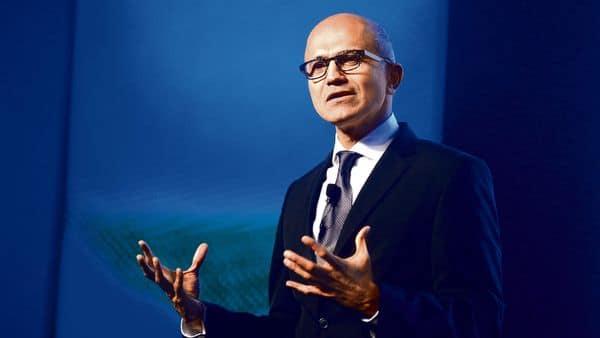 Microsoft chief executive Satya Nadella. (Mint)
