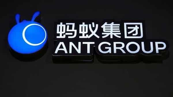 FILE PHOTO: A sign of Ant Group is seen during the World Internet Conference in Wuzhen, Zhejiang province. (REUTERS)