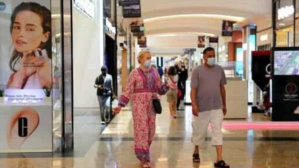 People walk in Mall of the Emirates, in Dubai, United Arab Emirates (AP)