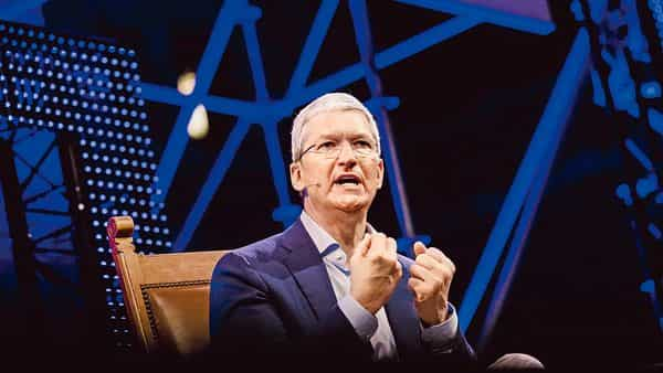 Apple CEO Tim Cook. (Bloomberg)