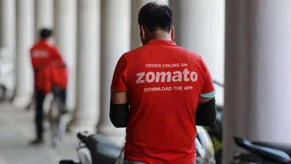 Founded in 2008 in Delhi, Zomato employs more than 5,000 people A delivery worker of Zomato,