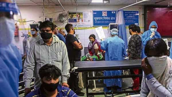 Hospitals are under pressure as the Covid-19 pandemic has led to a drop-off in regular visits. (Reuters)