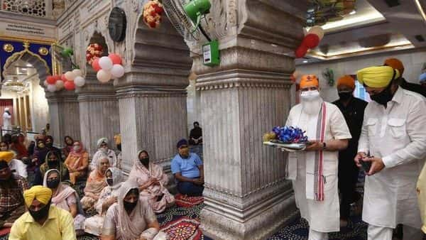 Earlier, PM Modi during a high level meeting had said that the 400th Prakash Purab of Sri Guru Teg Bahadur Ji was going to become a spiritual privilege and national duty. Photo: Narendra Modi Twitter