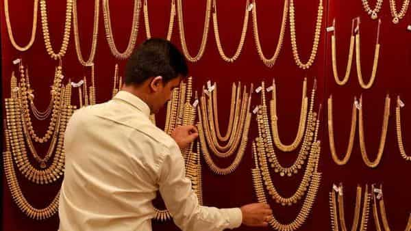 Gold rates in India were at  ₹46,785 per 10 gram, down  ₹1,600 from April 21 highs