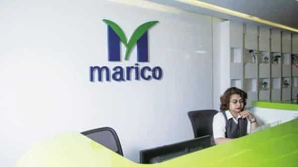 Marico Ltd's shares rose almost 10% on National Stock Exchange on Monday, touching a new 52-week high of Rs452.50 apiece (Mind)