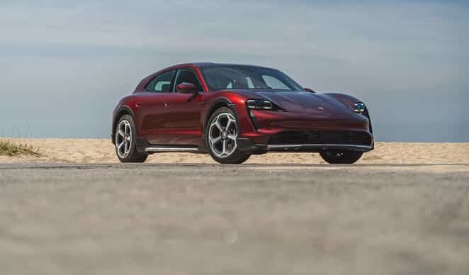 Acceleration in the Porsche Taycan 4 Cross Turismo is silky smooth and flawless.