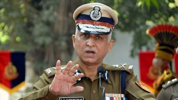 Delhi Police Commissioner SN Shrivastava (ANI)