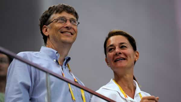FILE PHOTO: Microsoft Corp co-founder Bill Gates (L) and his wife Melinda Gates. (REUTERS)