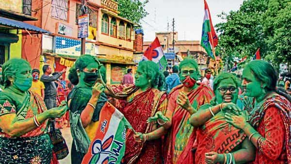 In Bengal, women were often far more negative in their opinion about certain BJP state leaders, particularly for their public misogynistic comments. (PTI)