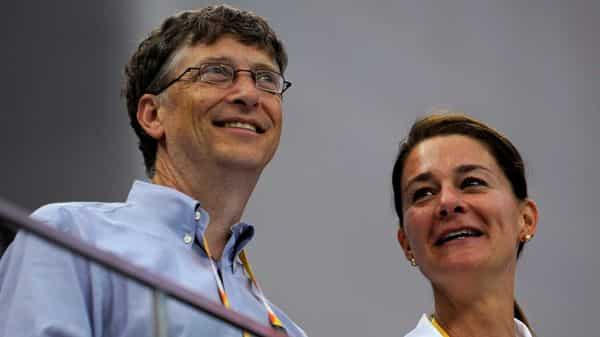Microsoft Corp co-founder Bill Gates (L) and his wife Melinda Gates. (REUTERS)
