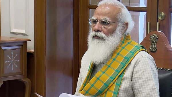 PM talks to four CMs, two LGs on COVID-19 situation