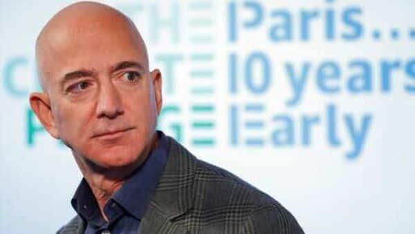 A file photo of Amazon founder Jeff Bezos. (AP)