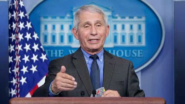 Dr. Anthony Fauci director of the National Institute of Allergy and Infectious Diseases