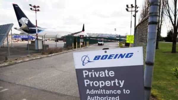 Boeing said customers canceled 17 737 MAX airplane orders in April. (AP)