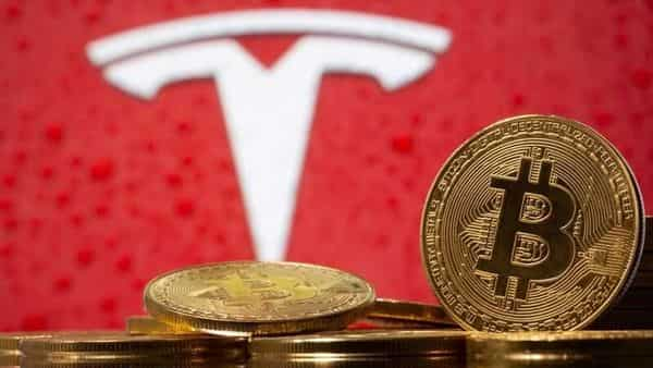 Bitcoin slid as much as 15% to nearly $46,000 before recovering. (REUTERS)