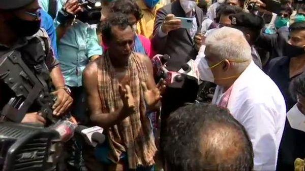 West Bengal Governor Jagdeep Dhankhar in Nandigram (ANI)