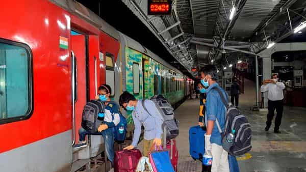 According to the statement issued by a senior railway official of Western Railway who said that due to the cyclone warning in coastal Gujarat region on 17 and 18 May, 2021, some trains will be cancelled/short terminated. (PTI)