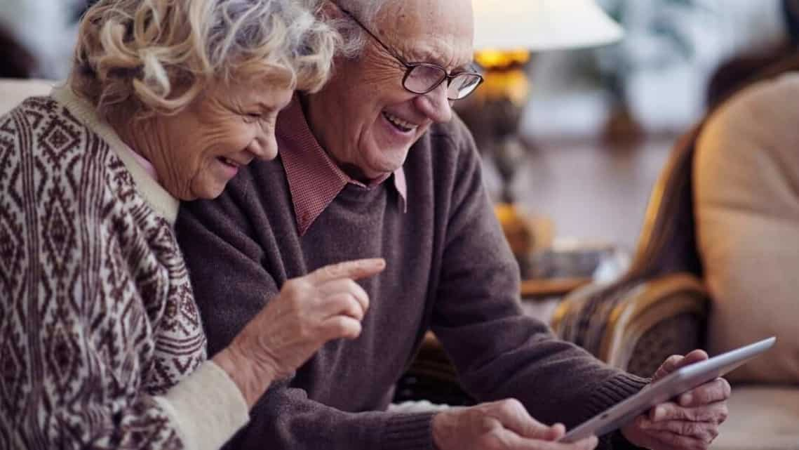 Elderly are actively reaching out to their friends, neighbours and even community members, albeit virtually.