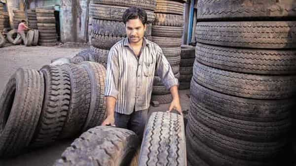 Balkrishna Industries manufactures off-highway tyres used in specialist segments such as mining, earthmoving, agriculture and gardening. (Bloomberg)