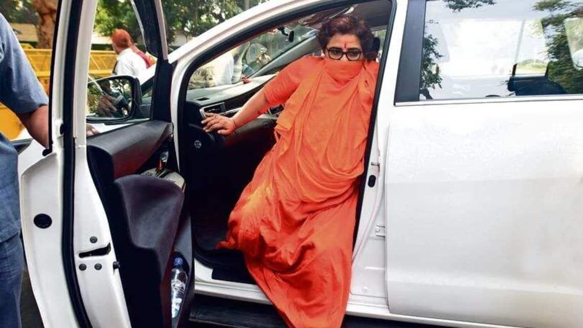 MP Pragya Singh Thakur claims she has avoided covid-19 because she drinks cow urine daily.