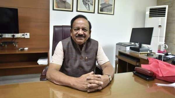 Union health minister Harsh Vardhan. (HT)
