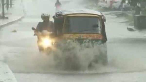River Kodaiyar at Thiruvarambu in the Kanyakumari district of Tamil Nadu was flowing in a severe situation (HT_PRINT)
